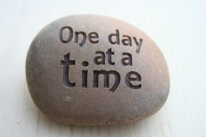 One Day At A Time - Good Daily Habits - Celebrate Small Wins