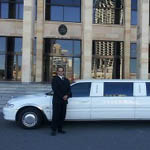 limousine and driver